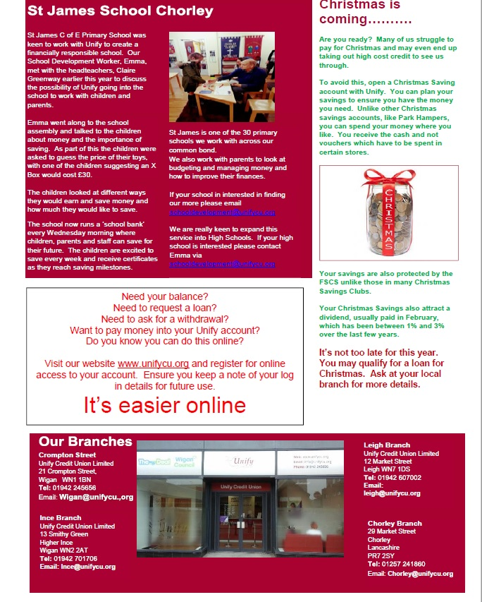Autumn Newsletter Page 2