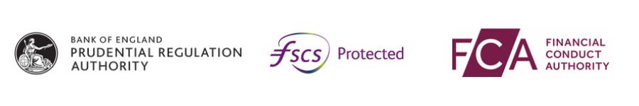 PRA, FSCS, FCA Logos