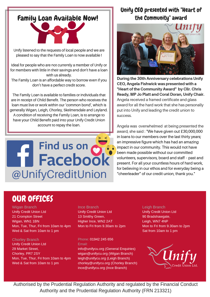 Unify Autumn Newsletter Page 2